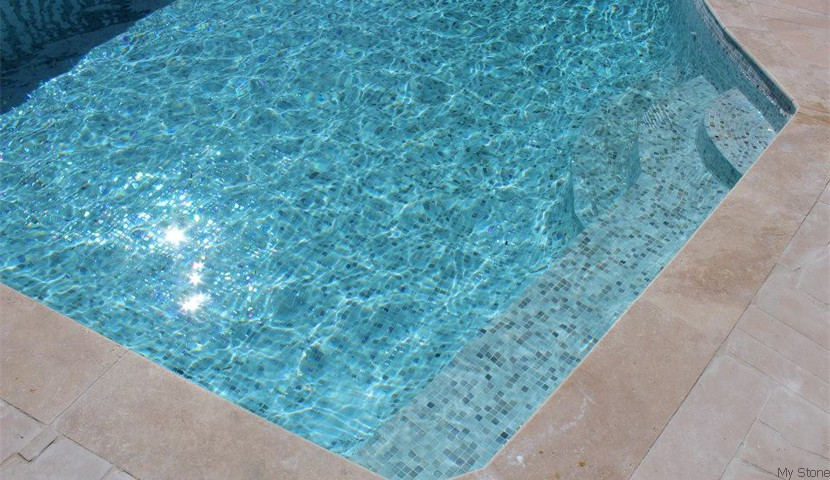 Ela Glass Mosaic Pool